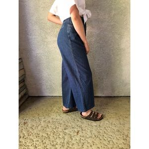 VINTAGE | Wide leg high waisted mom jeans